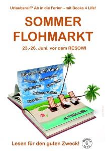 B4L Sommerflohmarkt 2014