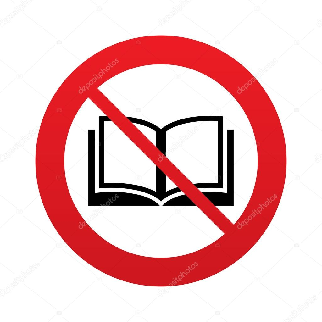 depositphotos_40975573-stock-photo-dont-read-book-sign-icon
